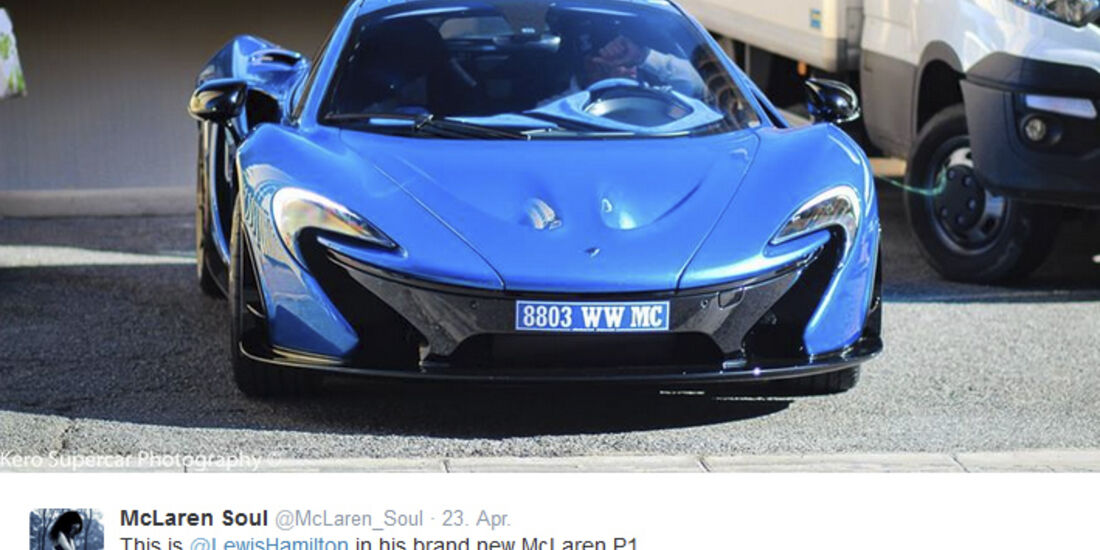 Lewis Hamilton - McLaren P1 - Privatautos