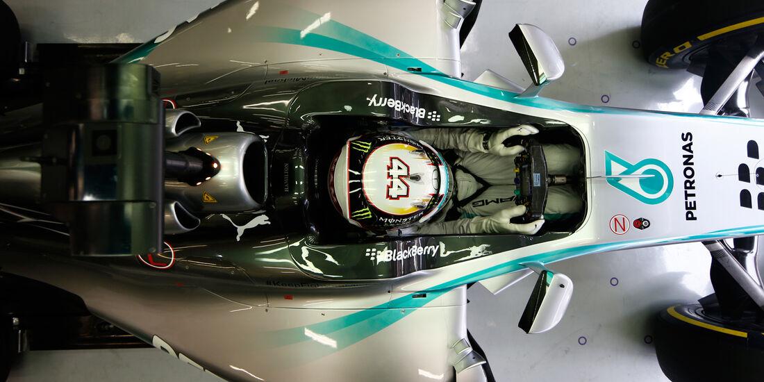 Lewis Hamilton - Mercedes - 2014