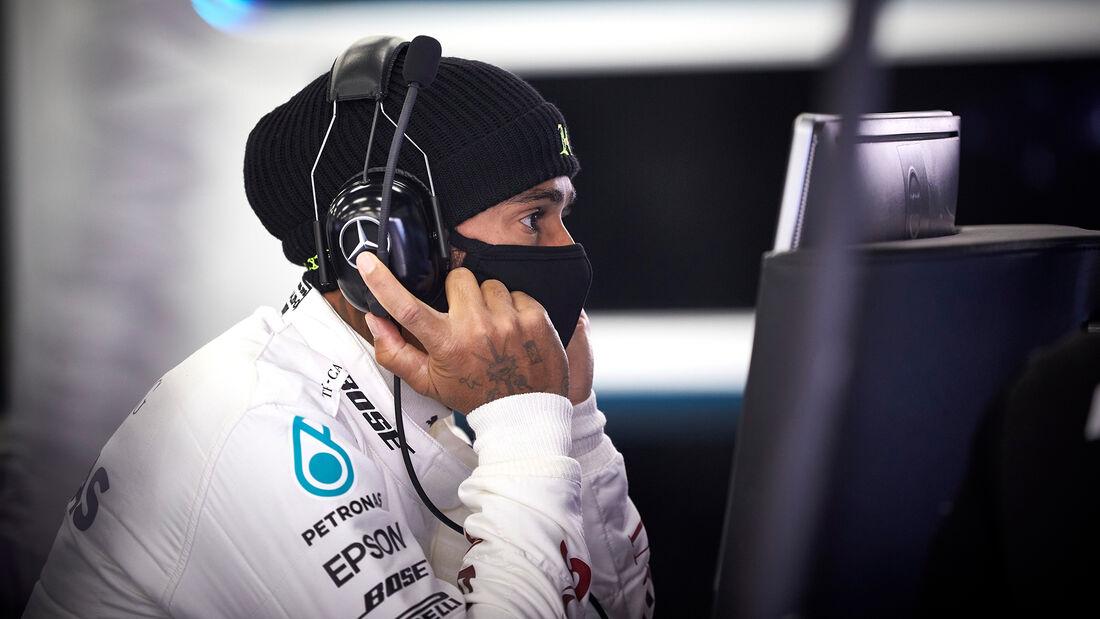 Lewis Hamilton - Mercedes - 2020