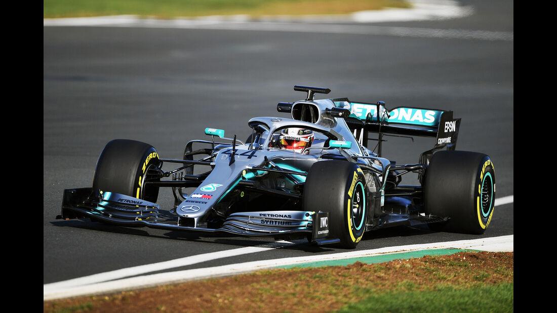Lewis Hamilton - Mercedes AMG F1 W10 - Shakedown - Silverstone - 2019