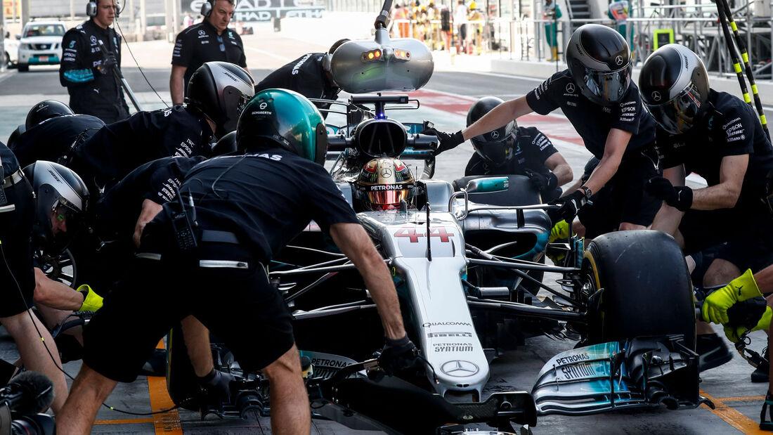 Lewis Hamilton - Mercedes - Abu Dhabi