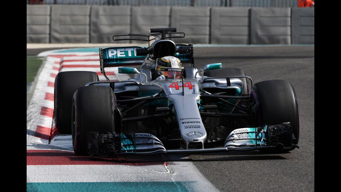 Lewis Hamilton - Mercedes - Abu Dhabi - Test 1 - 28. November 2017
