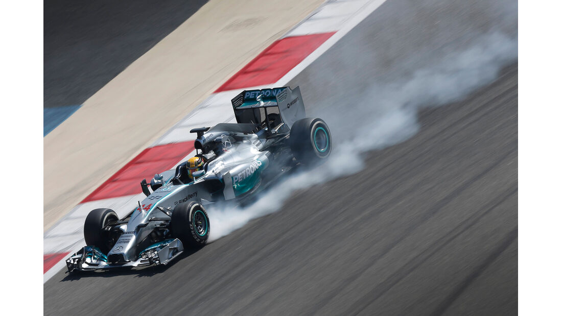 Lewis Hamilton - Mercedes - Bahrain - Formel 1 Test - 2014