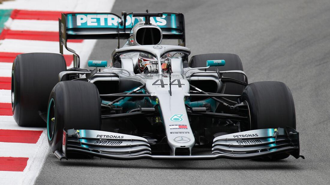 Lewis Hamilton - Mercedes - Barcelona - F1-Test - 20. Februar 2019