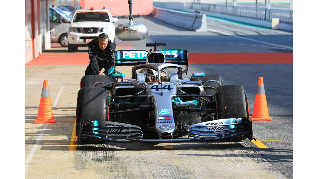 Lewis Hamilton - Mercedes - Barcelona - F1-Test - 21. Februar 2019
