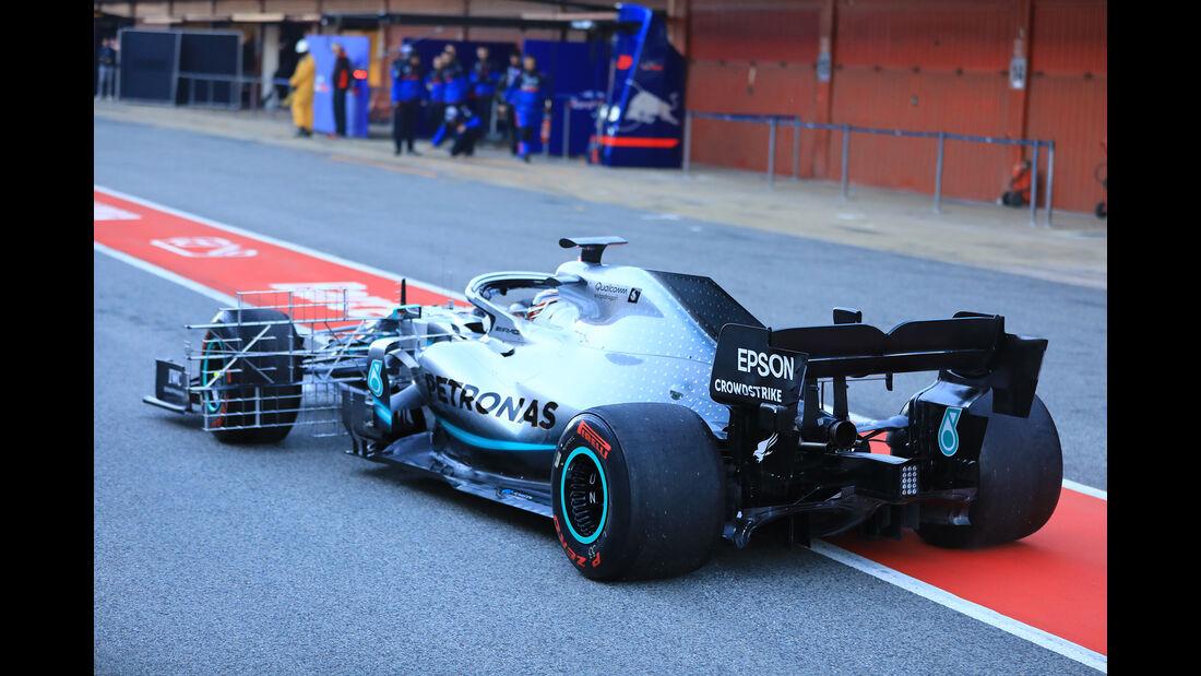 Lewis Hamilton - Mercedes - Barcelona - F1-Test - 26. Februar 2019