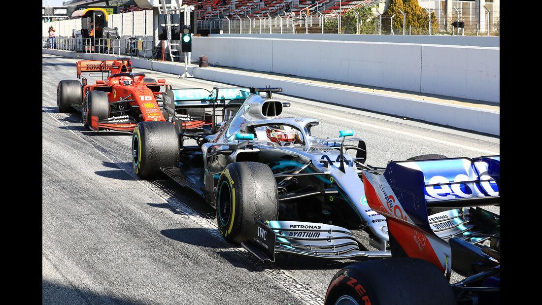 Lewis Hamilton - Mercedes - Barcelona - F1-Test - 28. Februar 2019