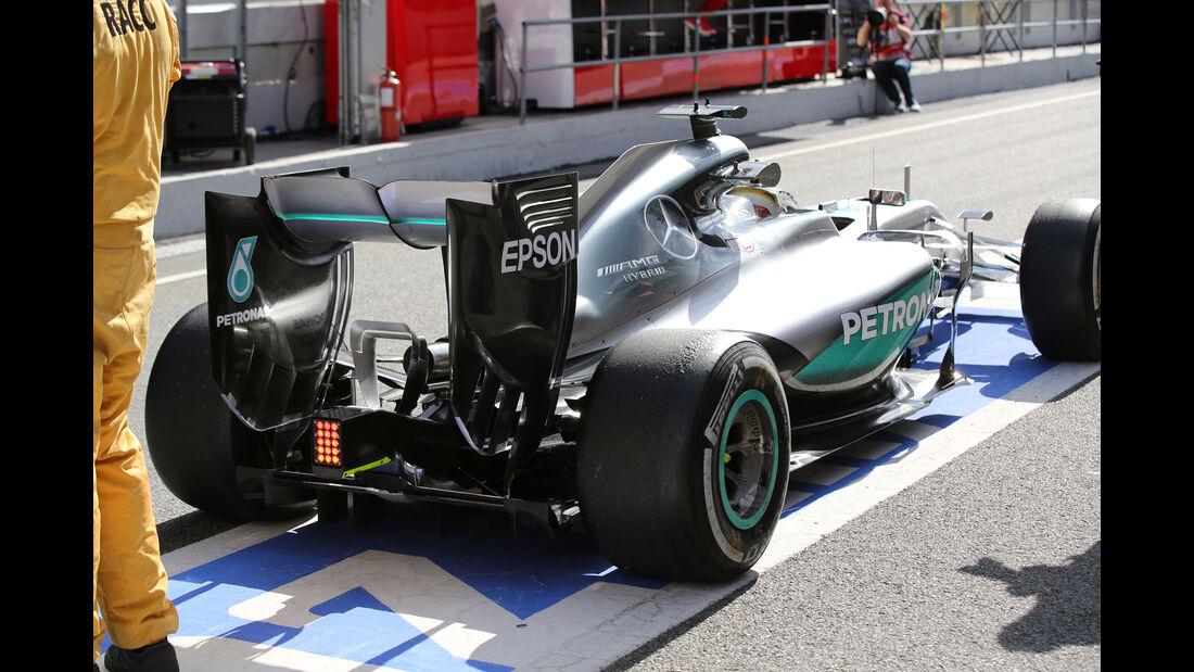 Lewis Hamilton - Mercedes - Barcelona - Formel 1-Test - 1. März 2016