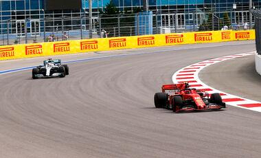 Lewis Hamilton - Mercedes  - Charles Leclerc - Ferrari - GP Russland 2019 - Sotschi - Qualifying