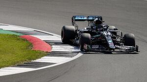 Lewis Hamilton - Mercedes - F1 70 Jahre Grand Prix - Silverstone