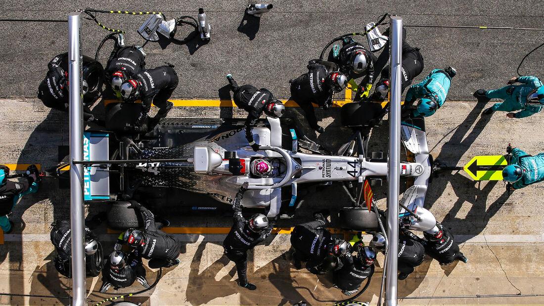 Lewis Hamilton - Mercedes - F1-Test - Barcelona - 20. Februar 2020