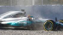 Lewis Hamilton - Mercedes - F1-Test - Barcelona - 2017