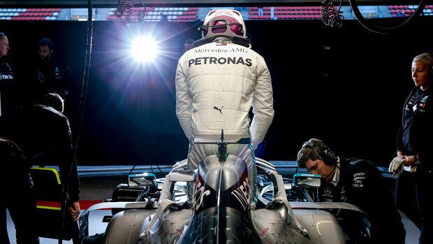 Lewis Hamilton - Mercedes - F1-Test - Barcelona 2020