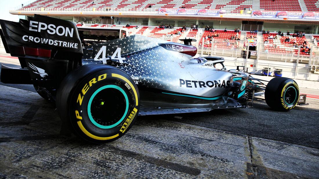 Lewis Hamilton - Mercedes - F1-Test - Barcelona - 21. Februar 2020