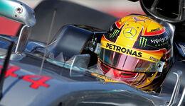 Lewis Hamilton - Mercedes - F1-Test - Barcelona - 27. Februar 2017