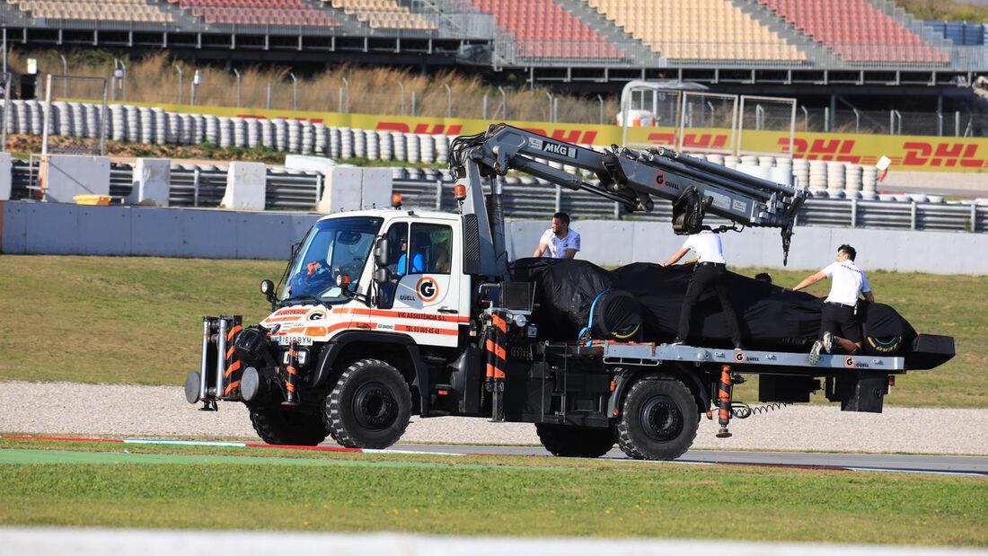 Lewis Hamilton - Mercedes - F1-Test - Barcelona - 27. Februar 2020