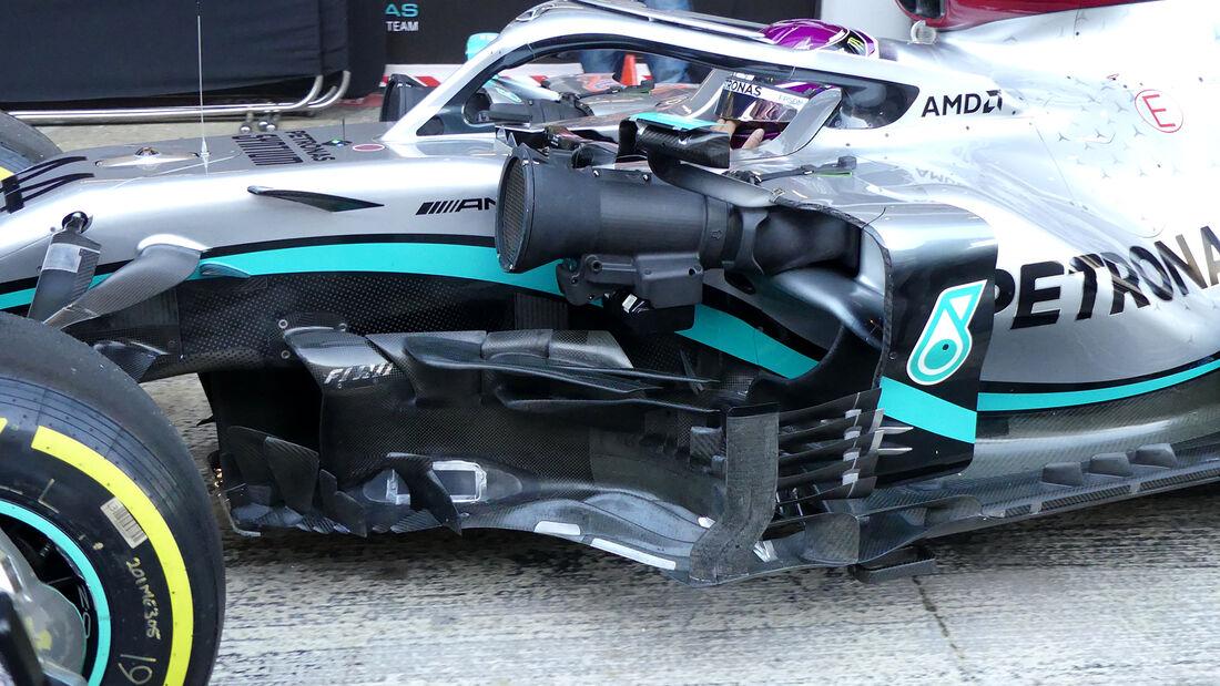 Lewis Hamilton - Mercedes - F1-Test - Barcelona - 28. Februar 2020
