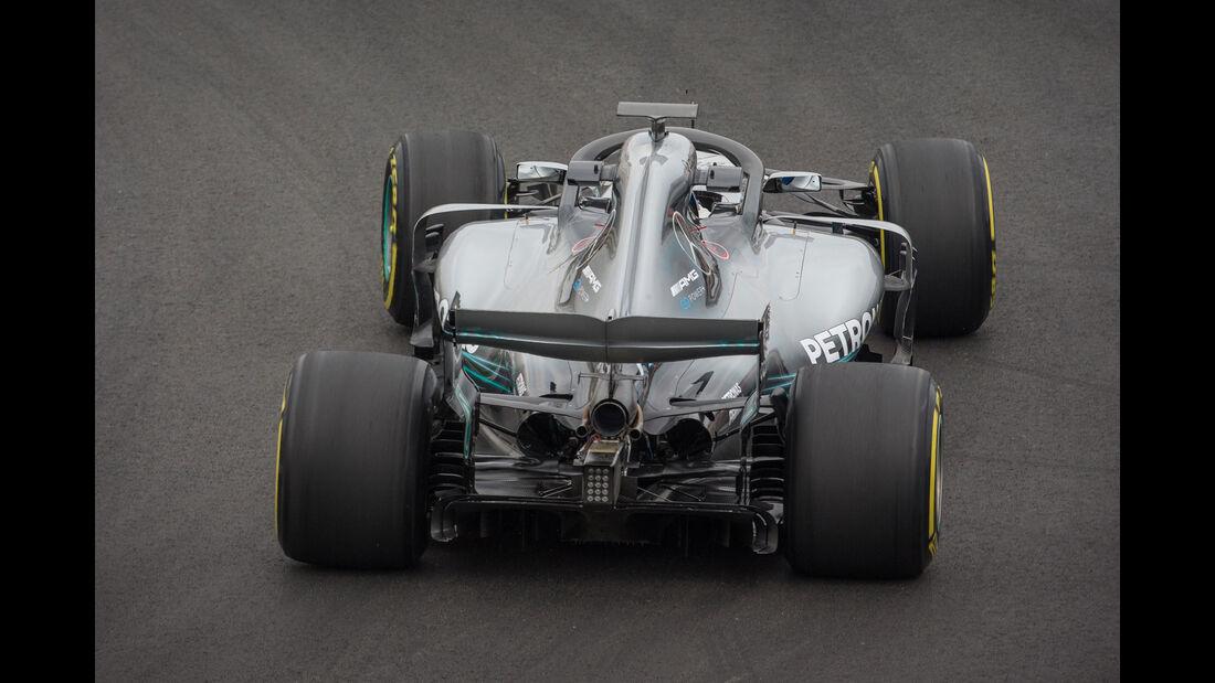 Lewis Hamilton - Mercedes - F1-Testfahrten - Barcelona - 1. Woche