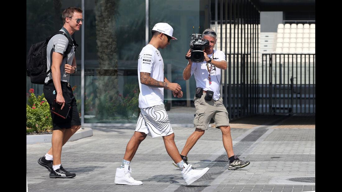 Lewis Hamilton - Mercedes - Formel 1 - GP Abu Dhabi - 20. November 2014