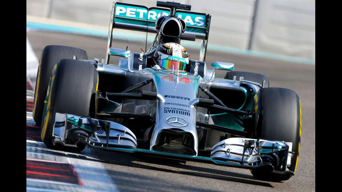 Lewis Hamilton - Mercedes - Formel 1 - GP Abu Dhabi - 21. November 2014