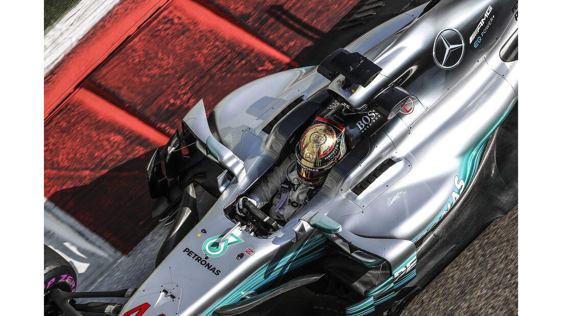 Lewis Hamilton - Mercedes - Formel 1 - GP Abu Dhabi - 24. November 2017