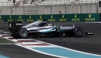 Lewis Hamilton - Mercedes - Formel 1 - GP Abu Dhabi - 25. November 2016