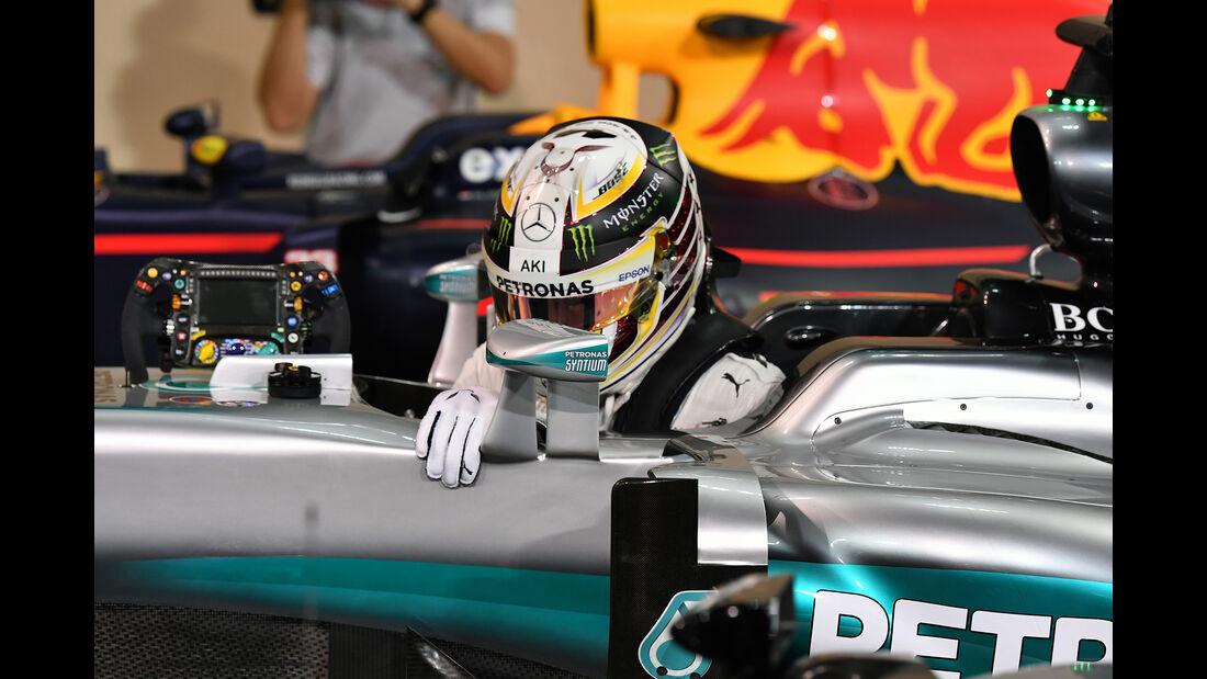 Lewis Hamilton - Mercedes - Formel 1 - GP Abu Dhabi - 26. November 2016