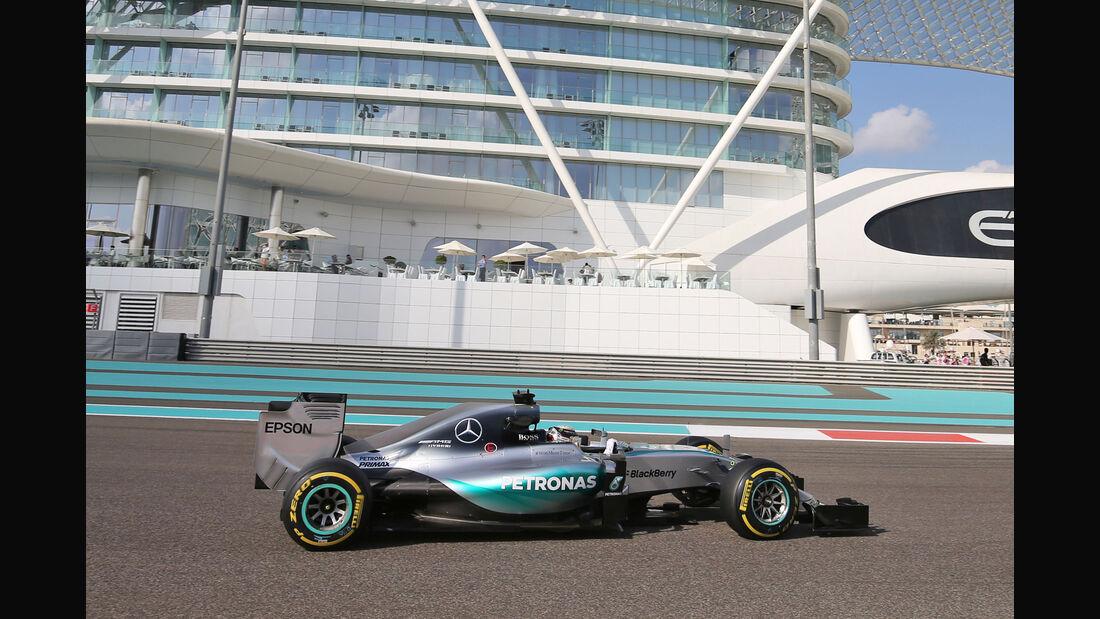 Lewis Hamilton - Mercedes - Formel 1 - GP Abu Dhabi - 27. November 2015