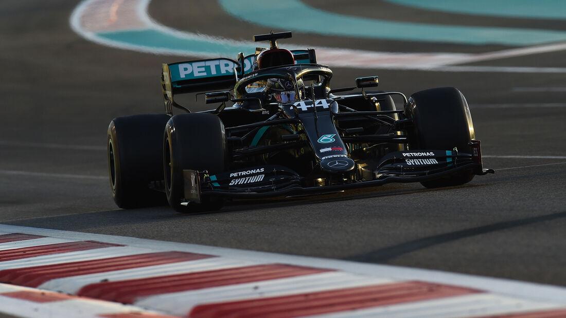 Lewis Hamilton - Mercedes - Formel 1 - GP Abu Dhabi - Freitag - 11.12.2020