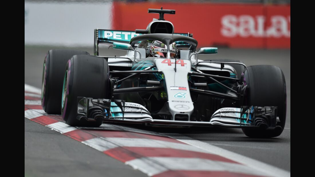 Lewis Hamilton - Mercedes - Formel 1 - GP Aserbaidschan - 28. April 2018
