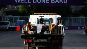 Lewis Hamilton - Mercedes - Formel 1 - GP Aserbaidschan - Baku - 18. Juni 2016