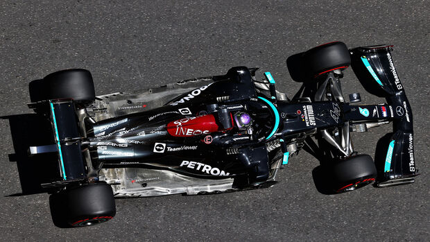 Lewis Hamilton - Mercedes - Formel 1 - GP Aserbaidschan - Baku - Freitag - 4.6.2021