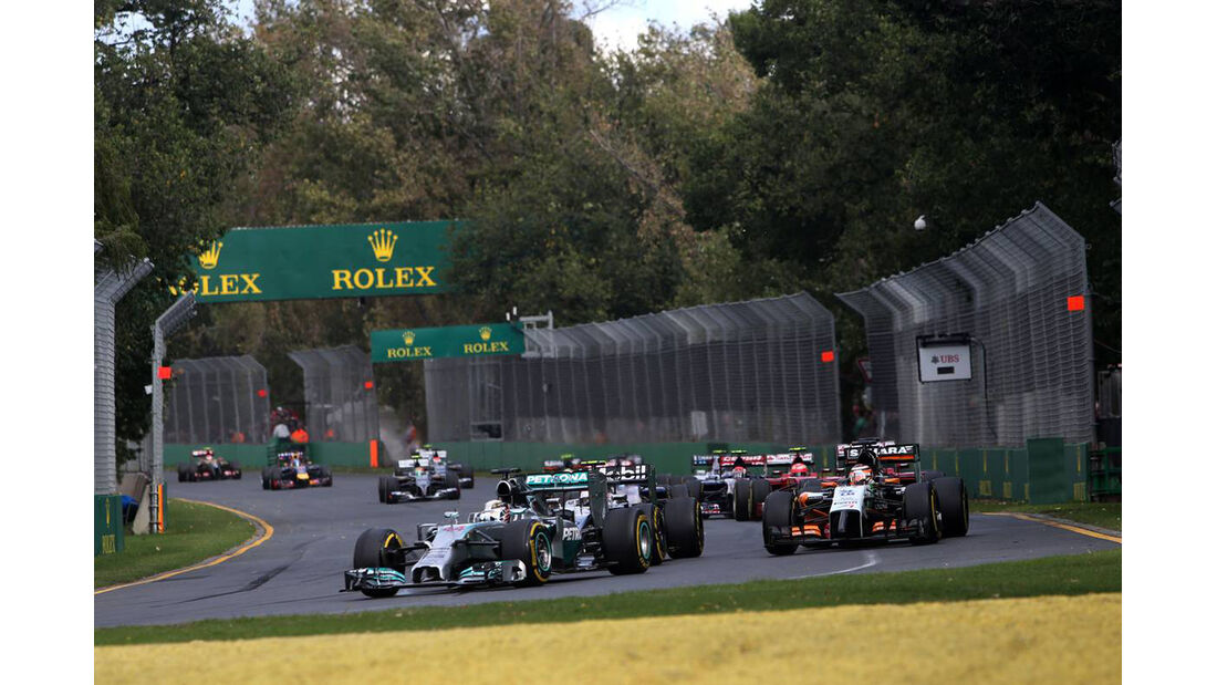 Lewis Hamilton - Mercedes - Formel 1 - GP Australien - 16. März 2014