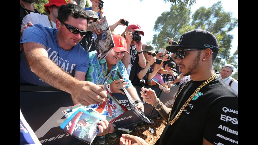 Lewis Hamilton - Mercedes - Formel 1 - GP Australien - Melbourne - 14. März 2015