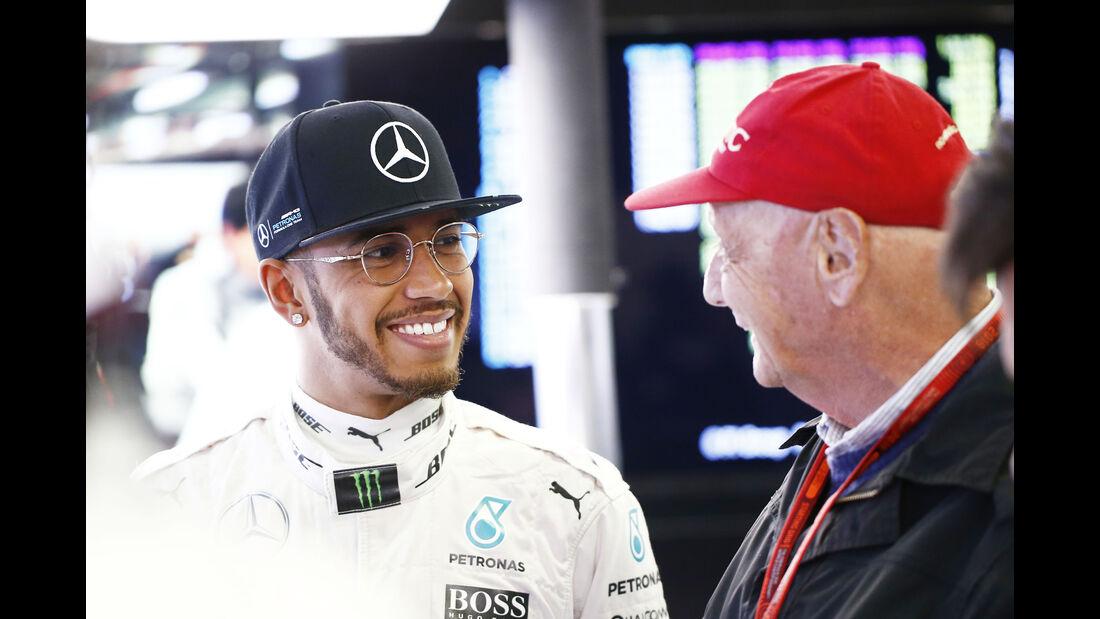 Lewis Hamilton - Mercedes - Formel 1 - GP Australien - Melbourne - 18. März 2016