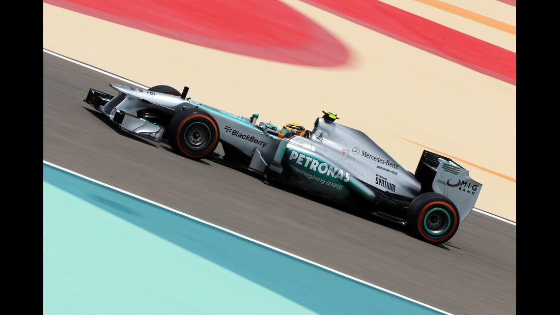Lewis Hamilton - Mercedes - Formel 1 - GP Bahrain - 19. April 2013