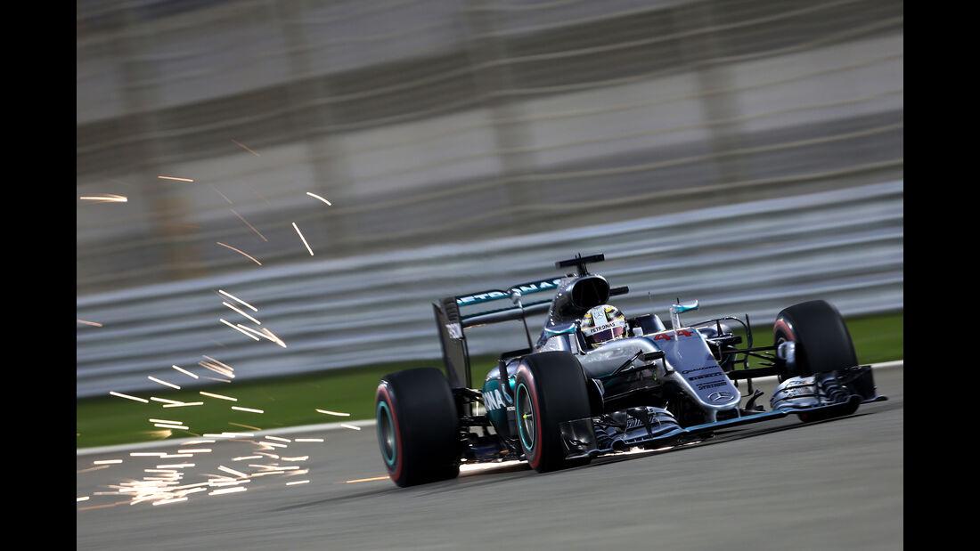 Lewis Hamilton - Mercedes - Formel 1 - GP Bahrain - 2. April 2016