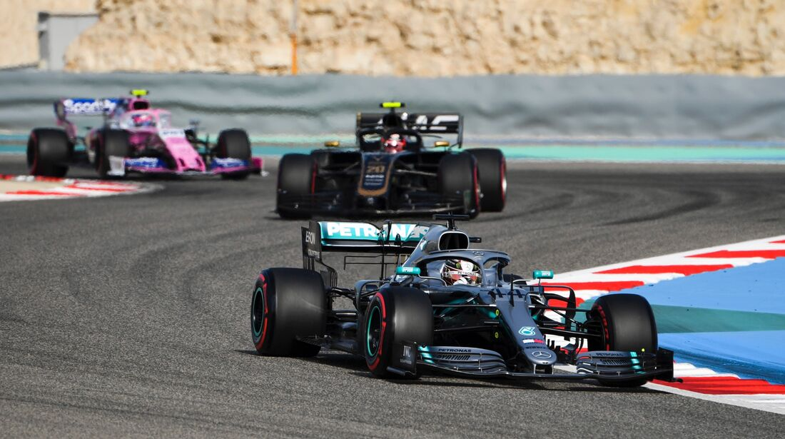 Lewis Hamilton - Mercedes - Formel 1 - GP Bahrain - 30. März 2019