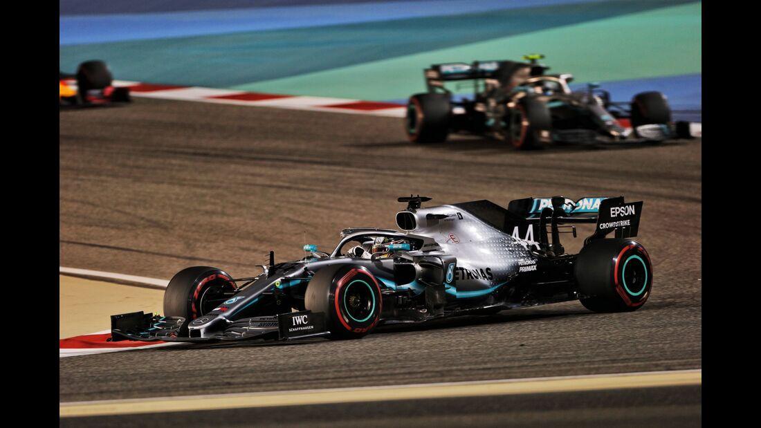 Lewis Hamilton - Mercedes - Formel 1 - GP Bahrain - 31. März 2019