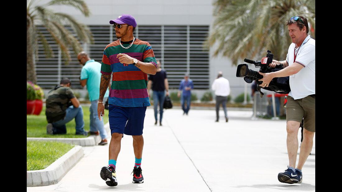 Lewis Hamilton - Mercedes - Formel 1 - GP Bahrain - 5. April 2018