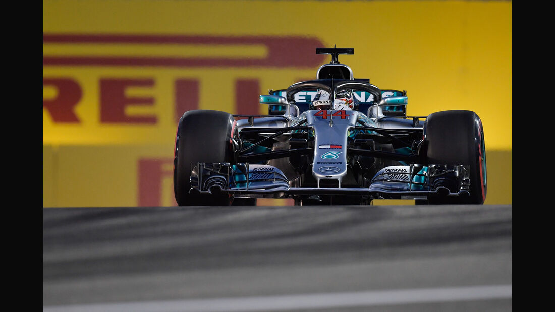 Lewis Hamilton - Mercedes - Formel 1 - GP Bahrain - 7. April 2018