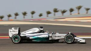 Lewis Hamilton - Mercedes - Formel 1 - GP Bahrain - Sakhir - 4. April 2014