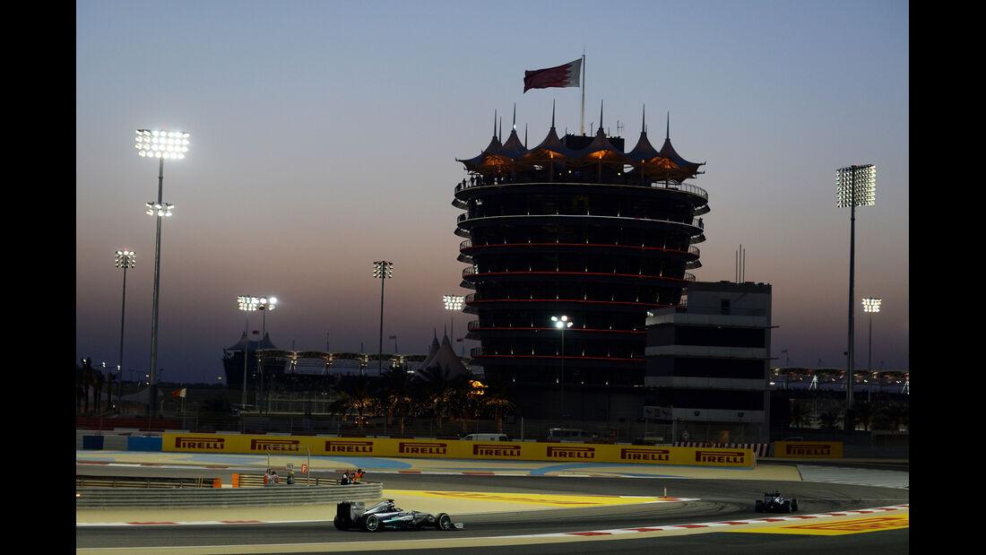 Lewis Hamilton - Mercedes - Formel 1 - GP Bahrain - Sakhir - 5. April 2014