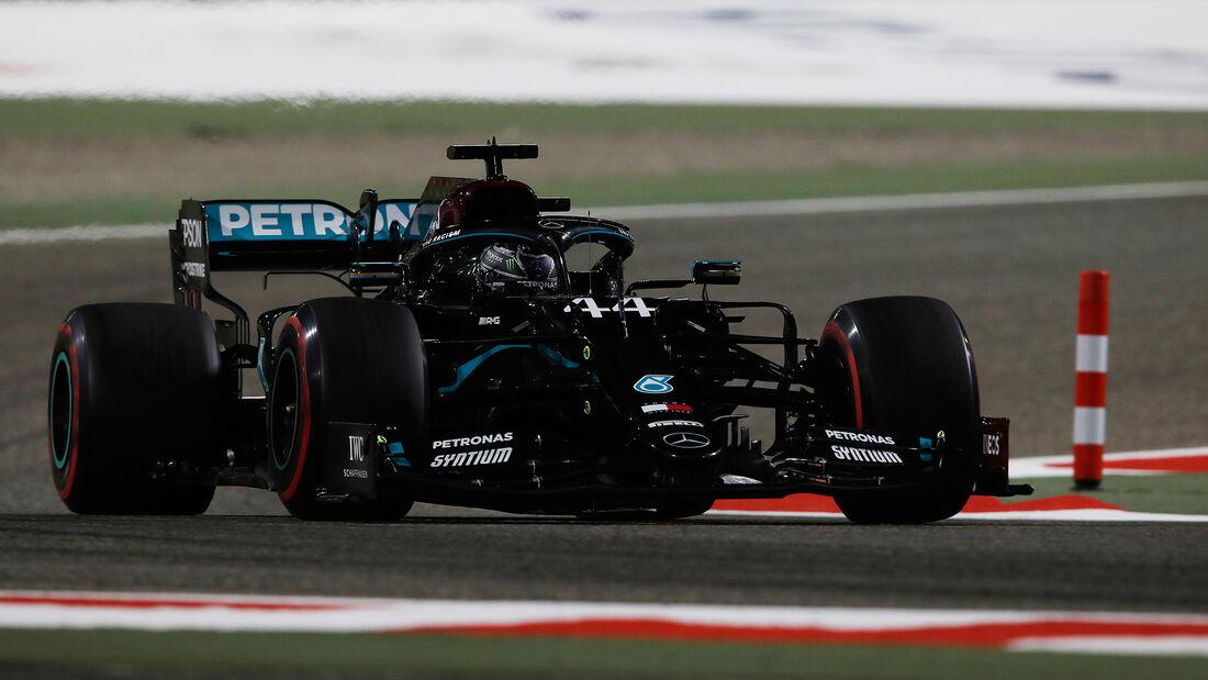 Lewis Hamilton - Mercedes - Formel 1 - GP Bahrain - Sakhir - Freitag - 27.11.2020