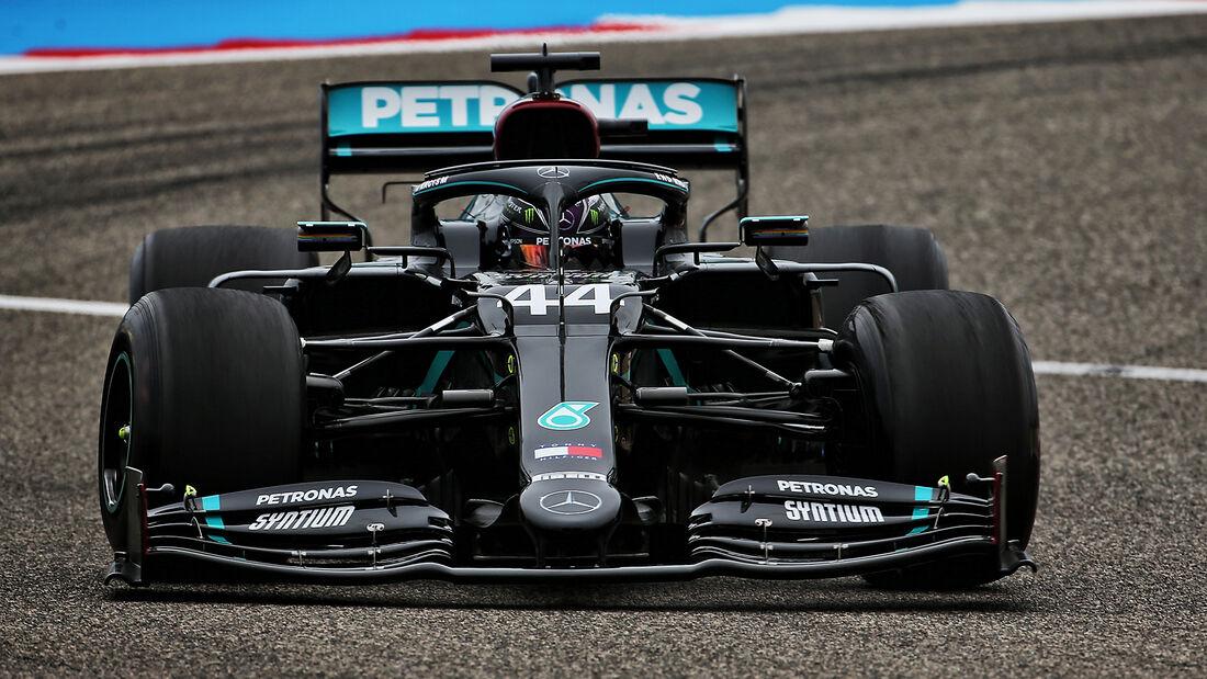 Lewis Hamilton - Mercedes - Formel 1 - GP Bahrain- Sakhir - Freitag - 27.11.2020