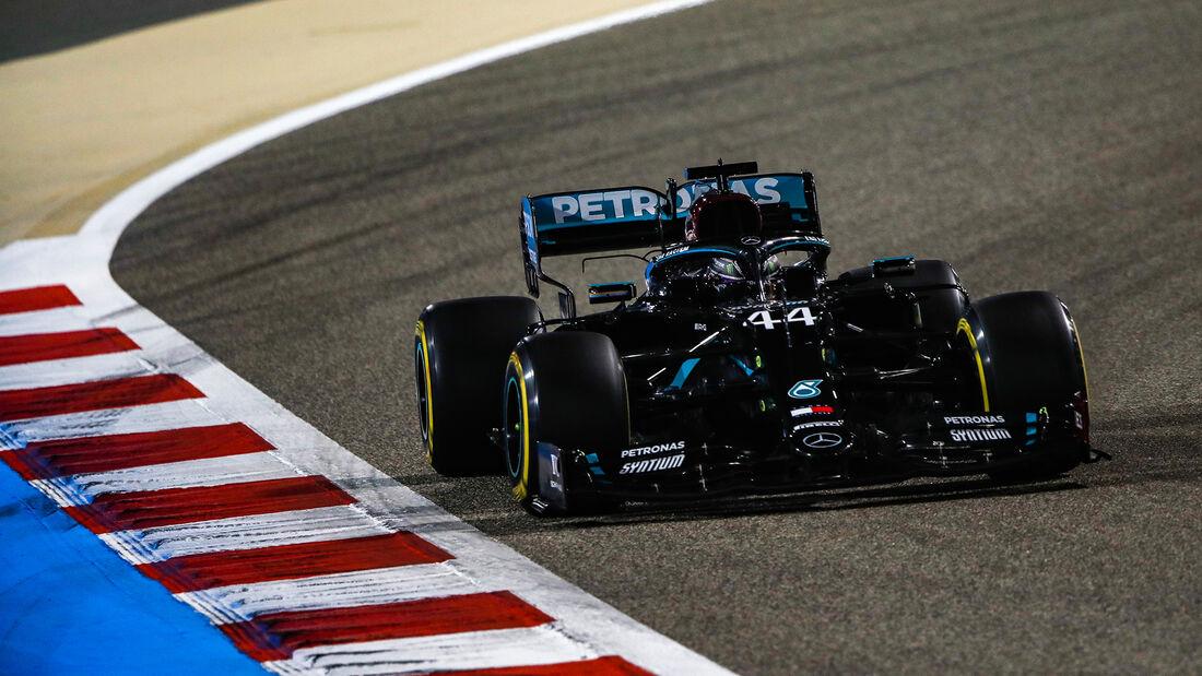 Lewis Hamilton - Mercedes - Formel 1 - GP Bahrain - Sakhir - Qualifikation - Samstag - 28.11.2020