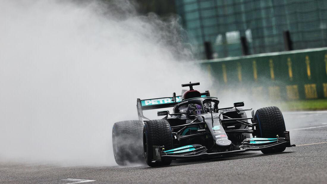 Lewis Hamilton - Mercedes - Formel 1 - GP Belgien - 28. August 2021