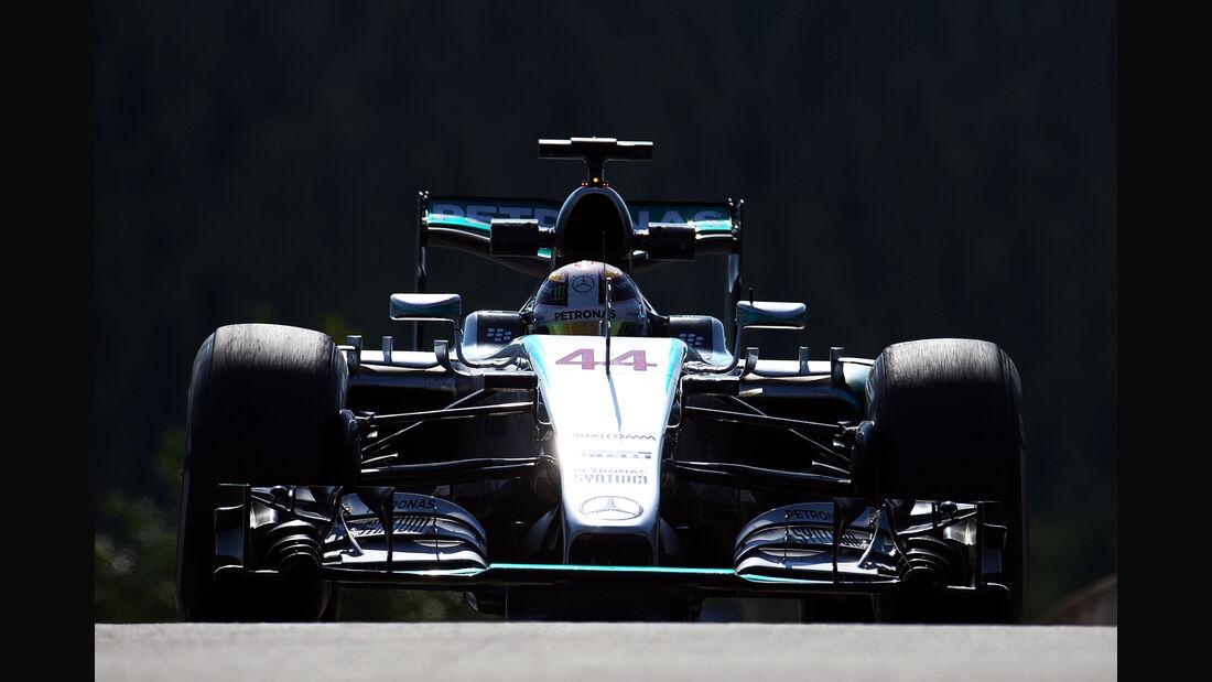 Lewis Hamilton - Mercedes - Formel 1 - GP Belgien - Spa-Francorchamps - 21. August 2015