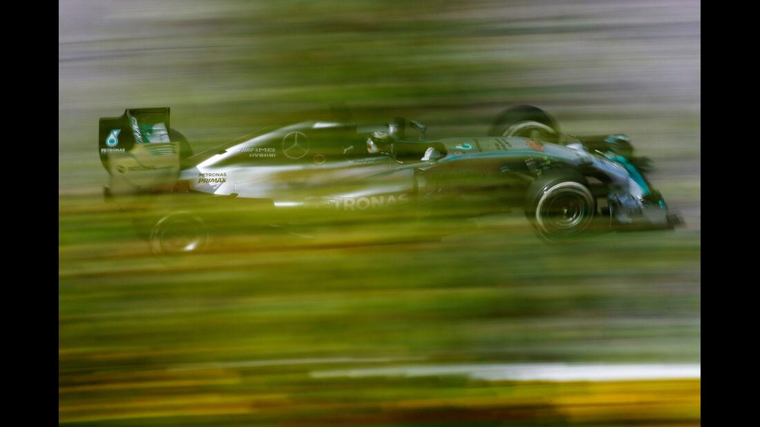 Lewis Hamilton - Mercedes - Formel 1 - GP Belgien - Spa-Francorchamps - 22. August 2014