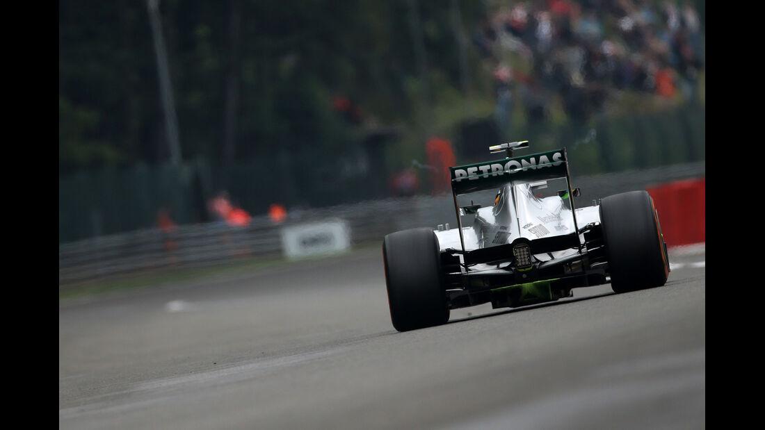Lewis Hamilton - Mercedes - Formel 1 - GP Belgien - Spa Francorchamps - 23. August 2013